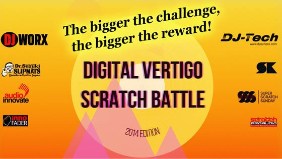 THE DV FREESTYLE SCRATCH BATTLE 2014
